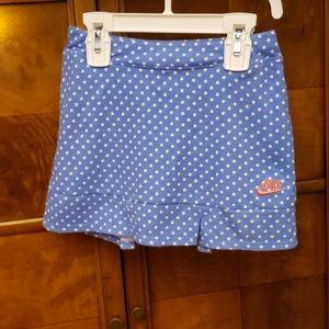Nike Blue Polka Dots Skorts Size 4-5 Years Old